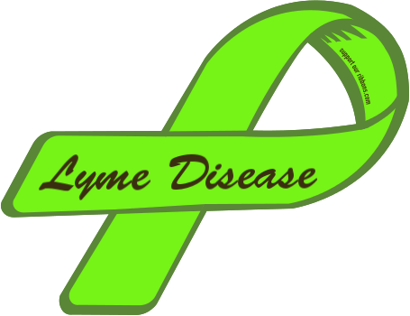 Image result for Lyme disease ribbon