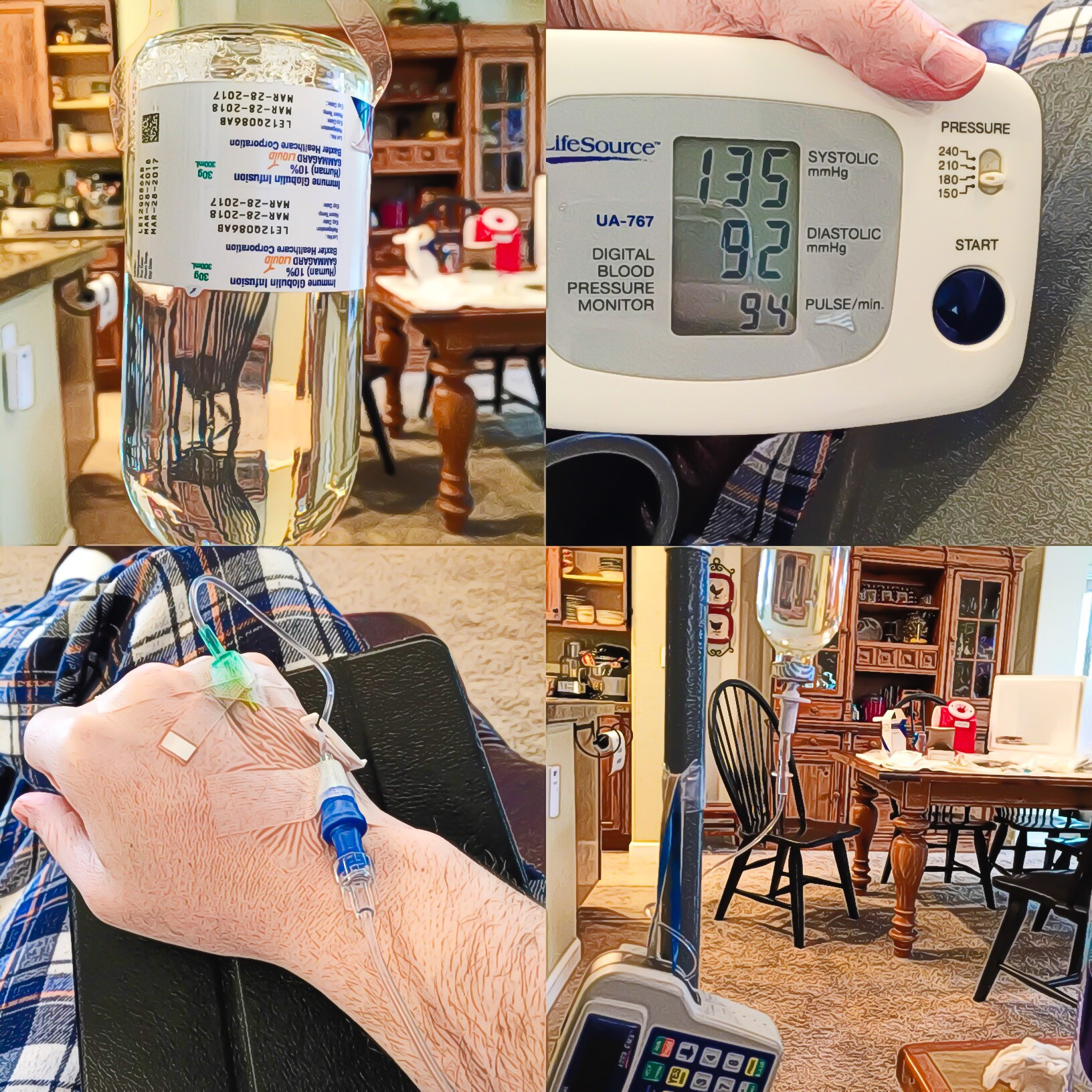 Human Plasma Infusion (IVIG) | Lyme Inside - Living with